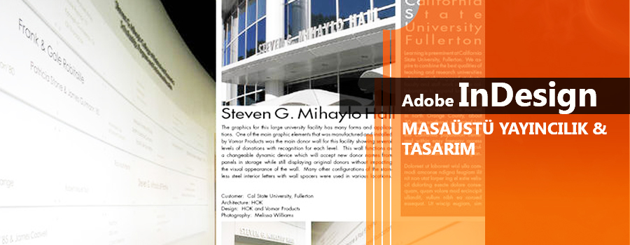 InDesign Dersleri